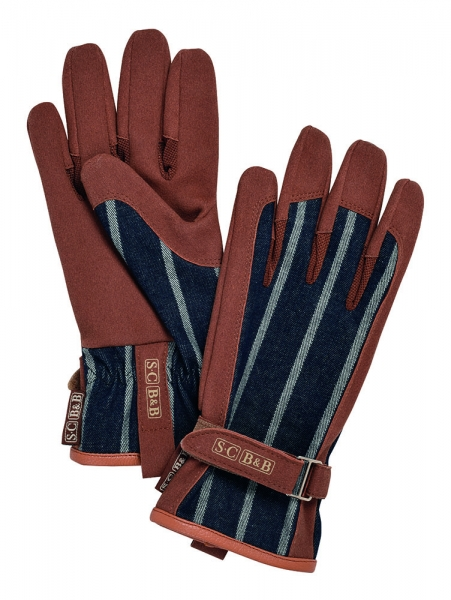 Sophie Conran Striped Gloves