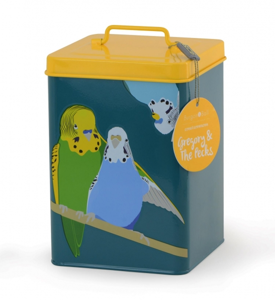 Gregory & Peckes Budgie Tin