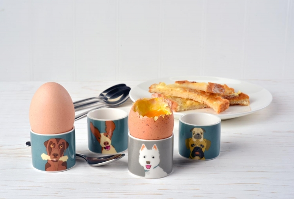 Dogs Egg Cups