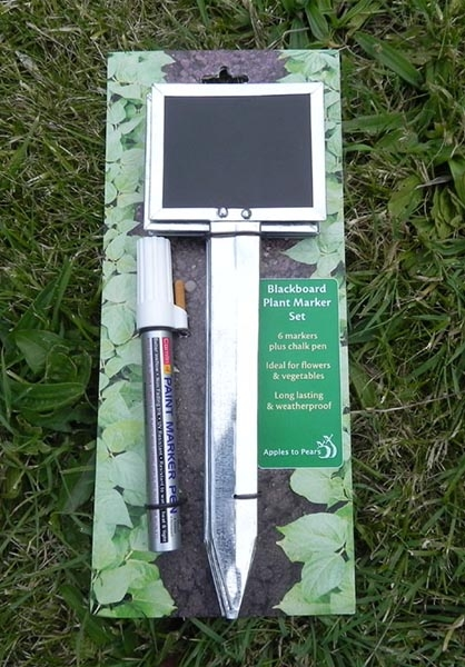 Blackboard Plant Marker Set