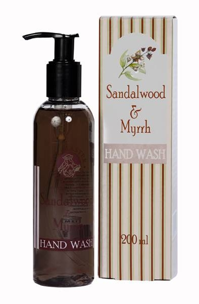 Sandalwood & Myrrh - Hand Wash
