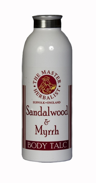 Sandalwood & Myrrh Body Talc