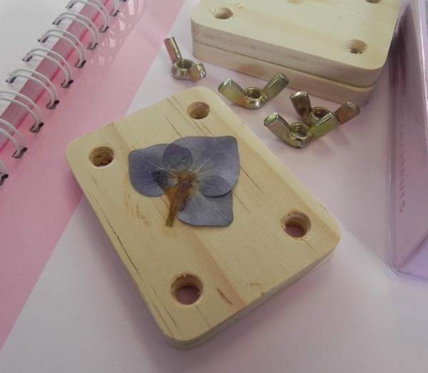 Gift in a Tin - Mini Flower Pressing Kit
