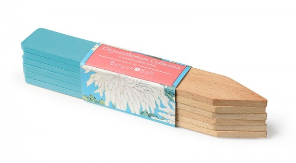 Wooden Plant Lables Chrysanthemum
