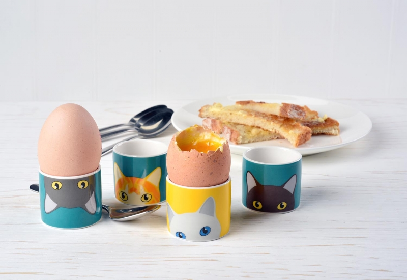 Cats Egg Cups