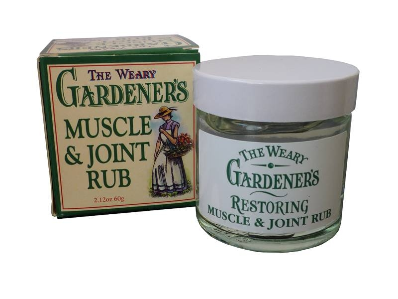 Weary Gardeners - Muskelcreme