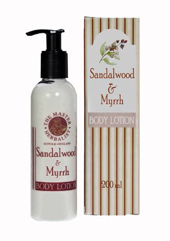 Sandalwood & Myrrh - Body Lotion