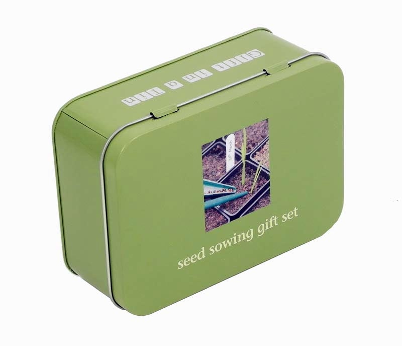 Gift in a Tin - Seed Sowing Gift Set