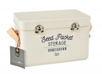 Seed Packet Storage Tin - Stone