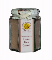 Sandalwood & Myrrh - Bath Salts Jar